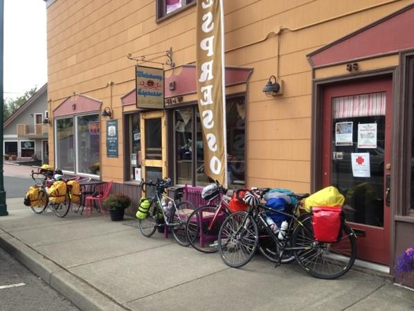 Cafe in Cathlamet for lunch